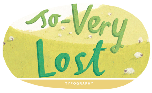 Typography from bible stories